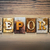 report concept letterpress theme stock photo © enterlinedesign