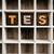 test concept wooden letterpress type in drawer stock photo © enterlinedesign