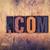 Dot Com Concept Wooden Letterpress Type stock photo © enterlinedesign