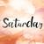 土曜日 · 水彩画 · 言葉 · 芸術 · 書かれた · 白 - ストックフォト © enterlinedesign