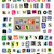 vector ransom note 1  cut paper letters numbers symbols stock photo © enterlinedesign