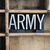 army concept metal letterpress word in drawer stock photo © enterlinedesign