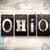 ohio concept metal letterpress type stock photo © enterlinedesign
