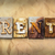 rent concept rusted metal type stock photo © enterlinedesign