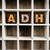 adhd concept wooden letterpress type in draw stock photo © enterlinedesign
