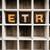 retro concept wooden letterpress type in drawer stock photo © enterlinedesign