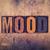 humeurig · woord · melancholicus · chagrijnig · depressief · tekst - stockfoto © enterlinedesign