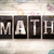 math concept metal letterpress type stock photo © enterlinedesign