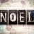 noel · kelime · yazılı · paslı · Metal - stok fotoğraf © enterlinedesign