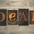 deal concept wooden letterpress type stock photo © enterlinedesign
