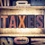 taxes concept letterpress type stock photo © enterlinedesign