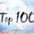 top 100 colorful watercolor and ink word art stock photo © enterlinedesign