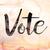 vote concept watercolor theme stock photo © enterlinedesign