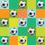 vector soccer pattern illustration stock photo © enterlinedesign