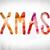 xmas concept watercolor word art stock photo © enterlinedesign