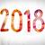 2018 concept watercolor word art stock photo © enterlinedesign
