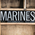 marines concept metal letterpress word in drawer stock photo © enterlinedesign
