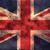worn union jack grunge flag background stock photo © enterlinedesign