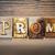 prom concept letterpress theme stock photo © enterlinedesign