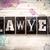 lawyer concept metal letterpress type stock photo © enterlinedesign