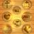 cristão · religioso · ícones · sinais · símbolos - foto stock © enterlinedesign