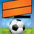 realista · vector · fútbol · campo · de · fútbol · hierba - foto stock © enterlinedesign