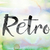 retro colorful watercolor and ink word art stock photo © enterlinedesign
