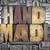 handgemaakt · type · woord · vintage · grunge - stockfoto © enterlinedesign