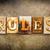 ルール · 金属 · タイプ · 言葉 · 書かれた - ストックフォト © enterlinedesign