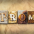 prom concept rusted metal type stock photo © enterlinedesign