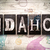 idaho concept metal letterpress type stock photo © enterlinedesign