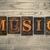 music concept wooden letterpress type stock photo © enterlinedesign