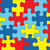 autizmus · tudatosság · kirakó · darabok · illusztráció · szimbolikus · színek - stock fotó © enterlinedesign