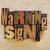 warning signs stock photo © enterlinedesign