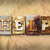 help concept rusted metal type stock photo © enterlinedesign