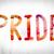 büszkeség · színes · vízfesték · tinta · szó · művészet - stock fotó © enterlinedesign