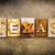 USA · arrugginito · tipo · lettere · scritto · arrugginito - foto d'archivio © enterlinedesign