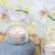 spa · sale · bagno · candele · fiore - foto d'archivio © epitavi