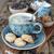 Coffee and cookies stock photo © Epitavi