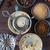 dwa · kawy · fotele · starych - zdjęcia stock © epitavi