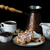 café · topo · ver · comida · fundo · doce - foto stock © epitavi