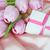 tulips and gift box stock photo © epitavi