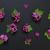 Lilac flowers on a black background stock photo © Epitavi