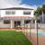 modern backyard with pool stock photo © epstock