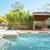 úszómedence · modern · udvar · szórakoztat · medence · elegáns - stock fotó © epstock