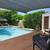 quintal · moderno · piscina · australiano · mansão · água - foto stock © epstock