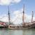 hajó · részlet · kék · ég · óceán · utazás · szél - stock fotó © epstock