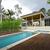 modern · udvar · medence · úszómedence · szabadtér · szórakoztat - stock fotó © epstock