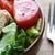 Grilled chicken salad stock photo © erbephoto