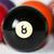 vintage · piscina · billar · ocho · pelota - foto stock © erbephoto